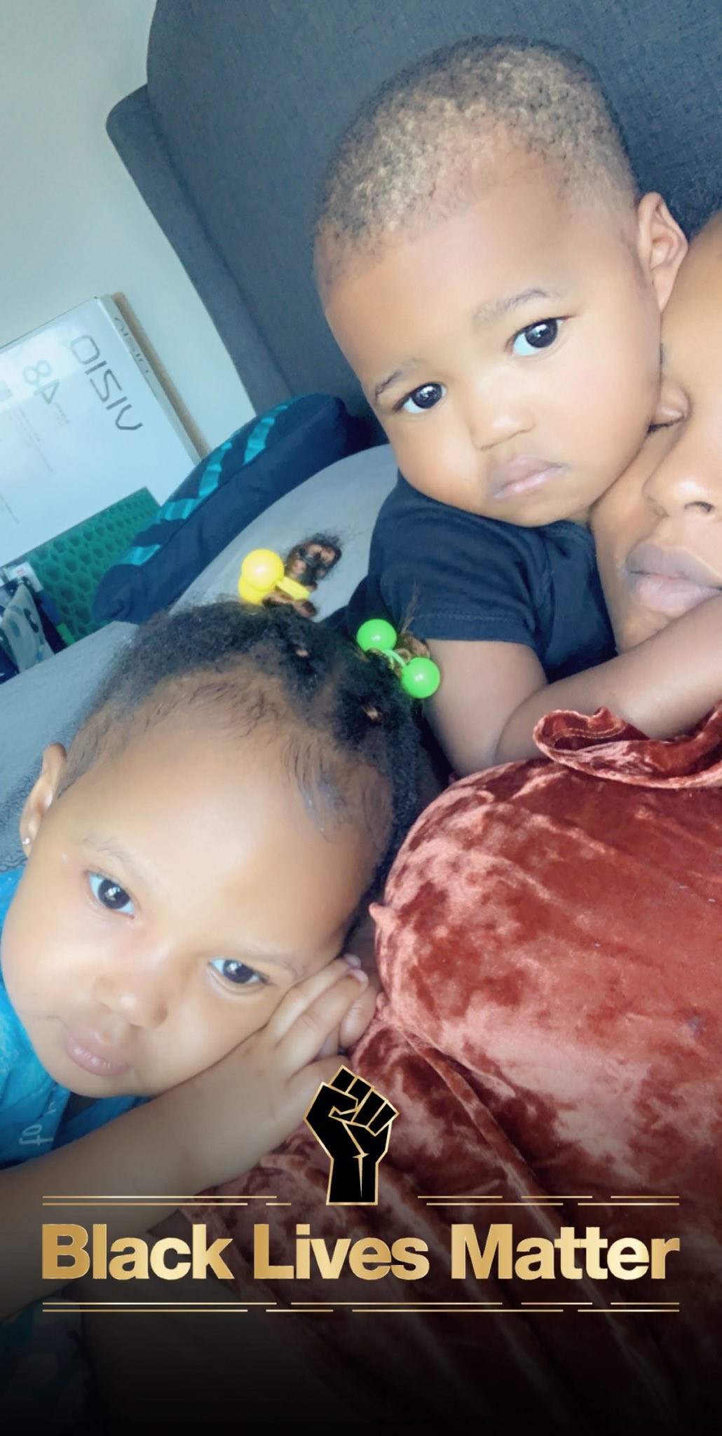 Emma Nyra shares lovely photos of her twin children, Alexander and Alexandria
