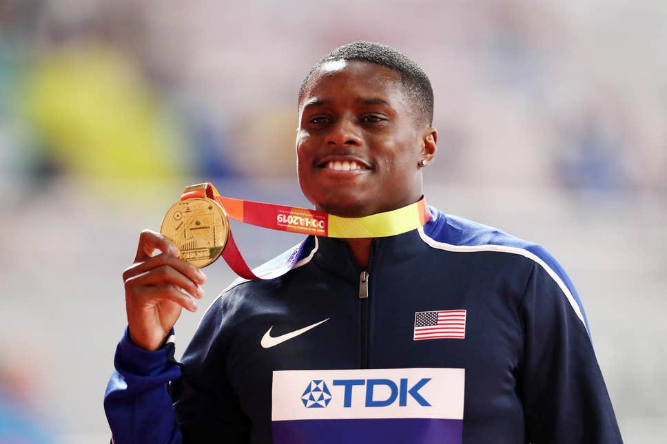 World 100m champion, Christian Coleman suspended for missing three drugs tests in a year