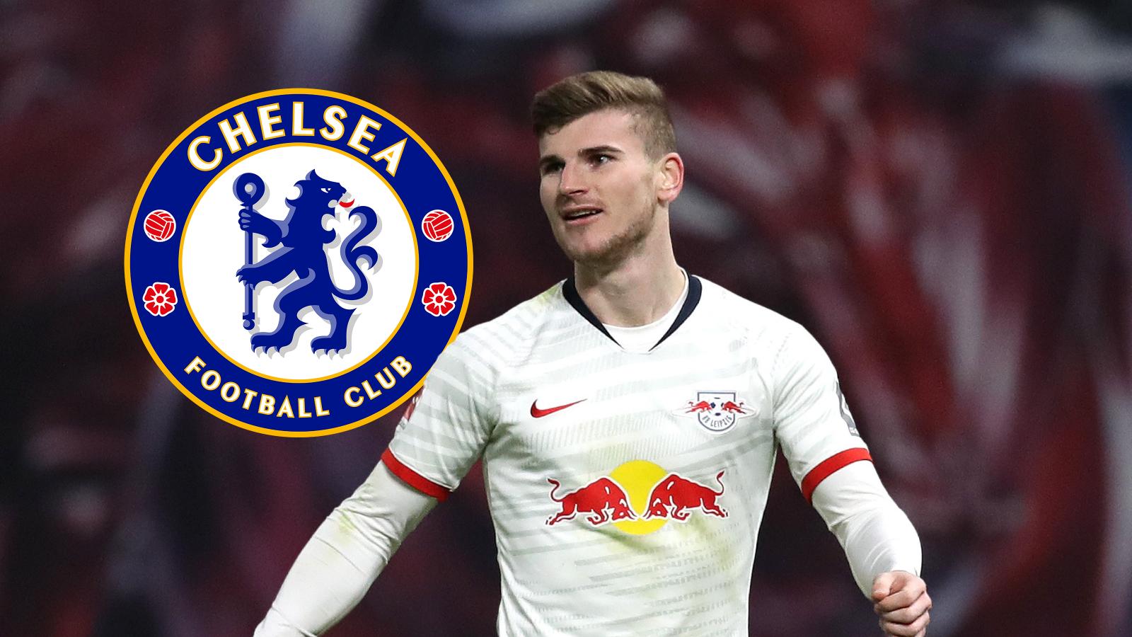 Chelsea complete signing of RB Leipzig striker, Timo Werner