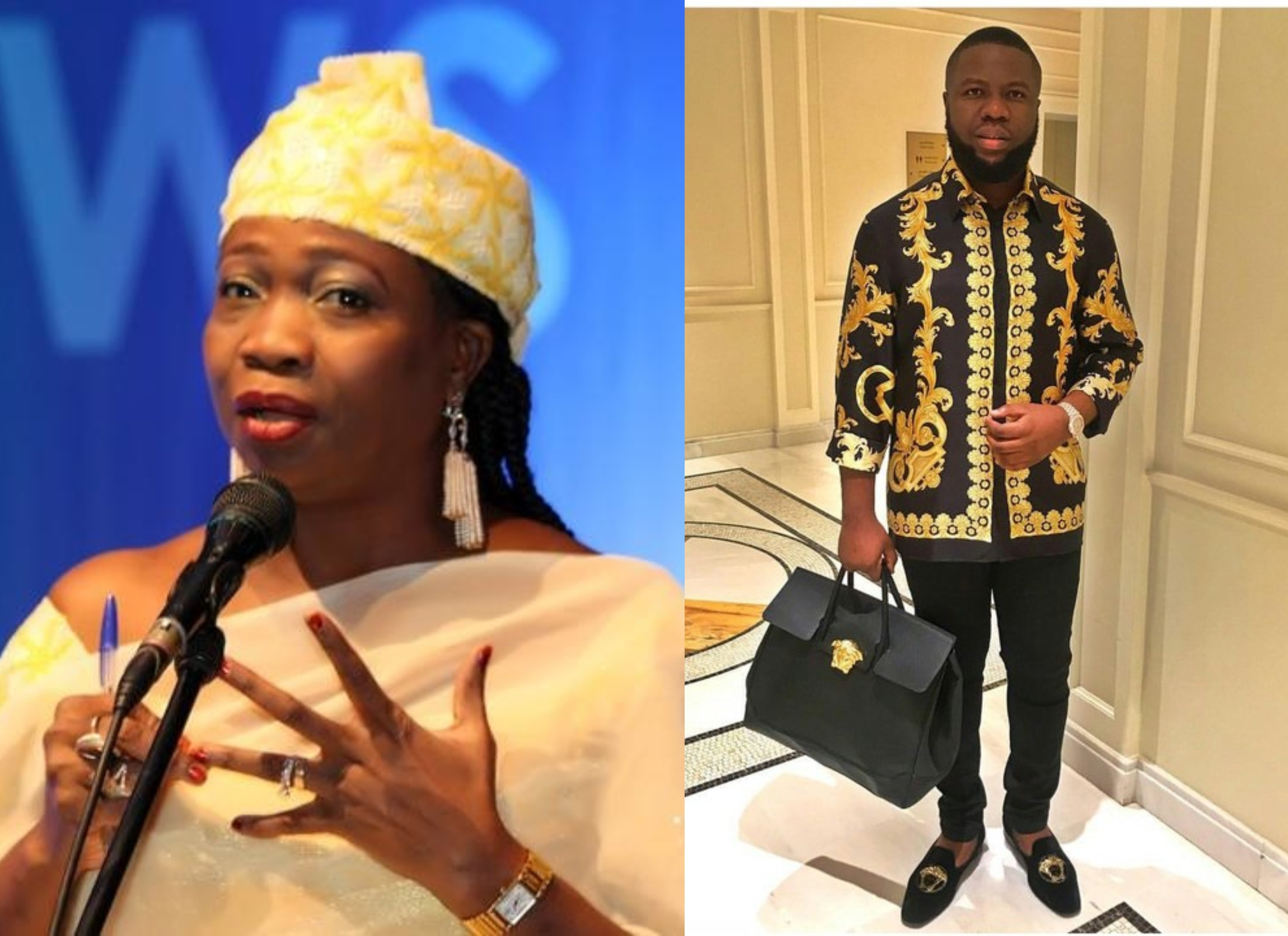 Don?t judge Nigerians succeeding abroad ? Abike Dabiri-Erewa reacts to Hushpuppi