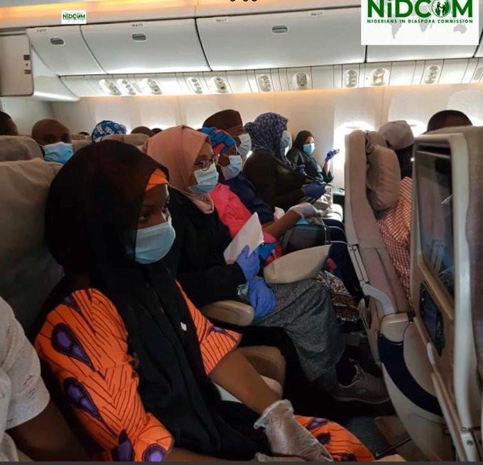 56 Nigerians evacuated from Pakistan arrive Nigeria; 300 more from Dubai