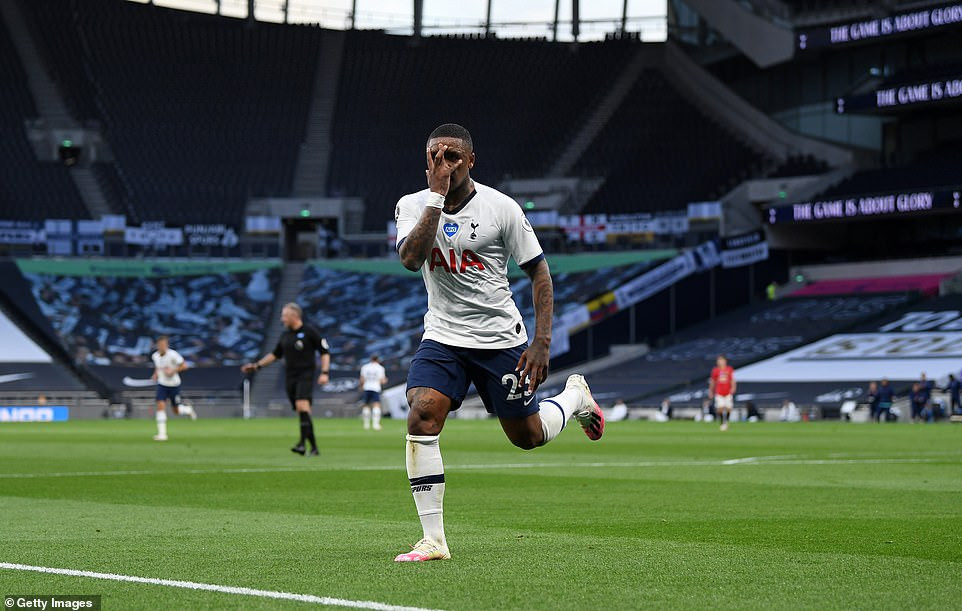 Tottenham 1-1 Man Utd - Bruno Fernandes