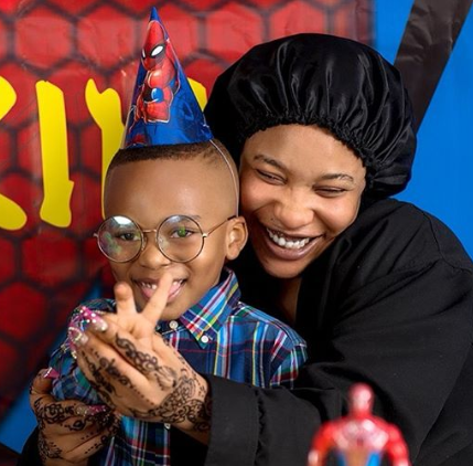 "Tonto Dikeh, ""Being your dad has been a great honor"" Tonto Dikeh tells her son Andre as she wishes herself a Happy Fathers day, Premium News24"