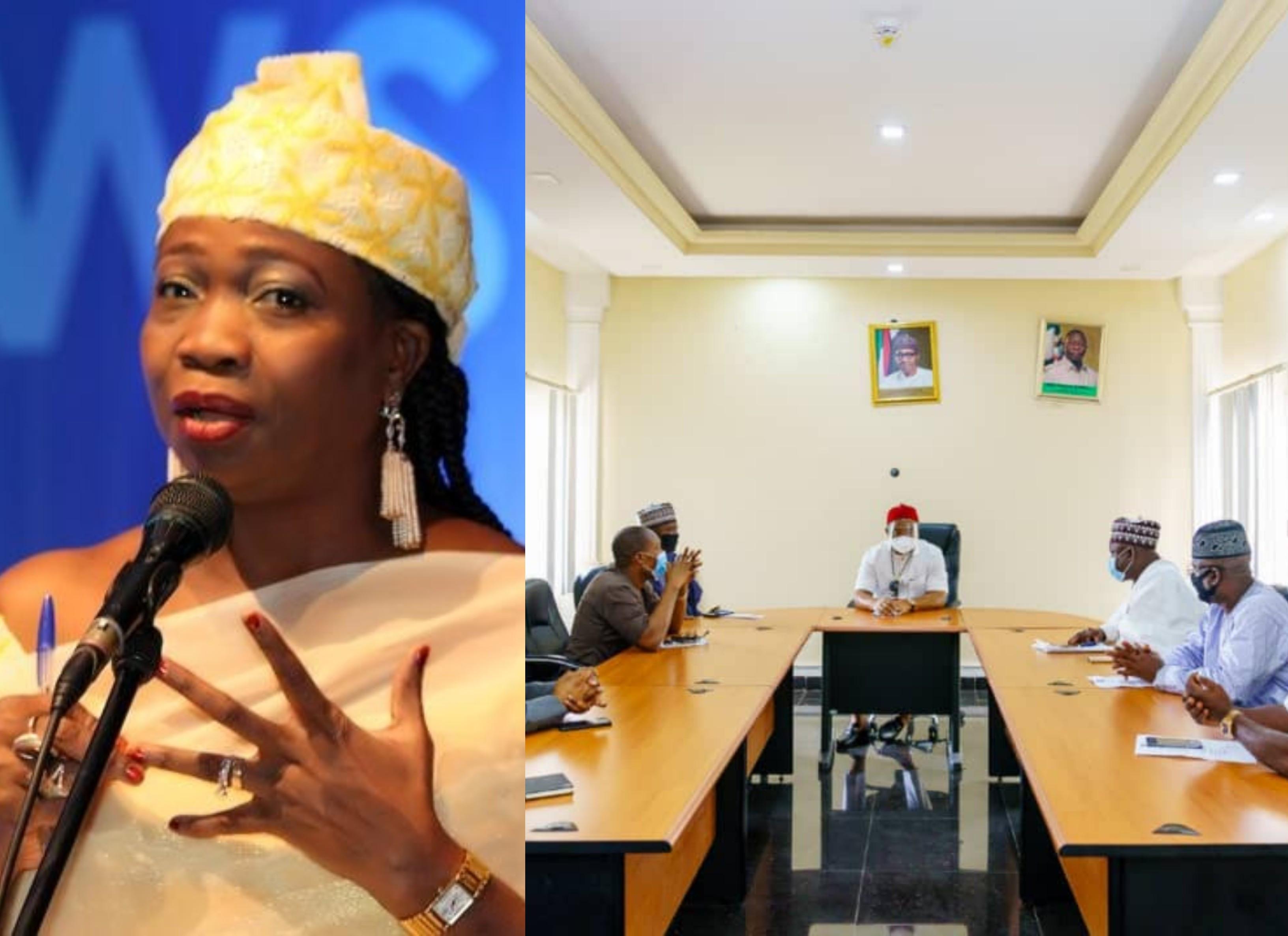 "Abike Dabiri-Erewa tackles APC for ""sidelining"" women in Edo primary committee"