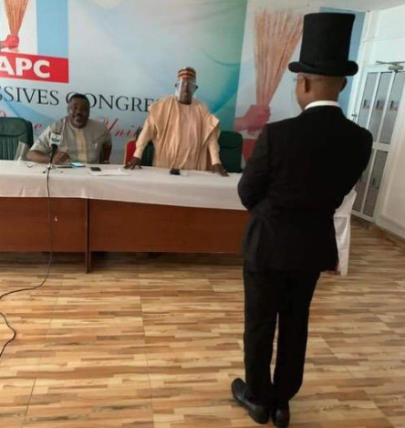 APC swears in Worgu Bom to replace suspended deputy National Chairman, Victor Giadom (photos)