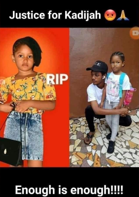 5-year-old girl dies after her cousin raped her and her 8-year-old sister