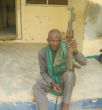 Photo: Suspected Armed Bandit Arrested In Niger State | Mightyceeblog.com