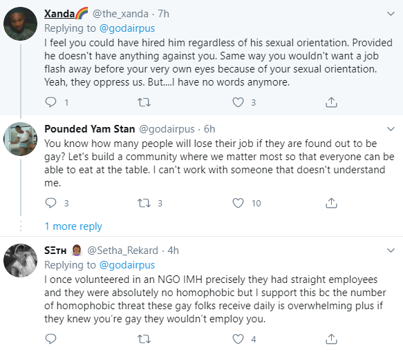 Gay rights activist boasts about denying a man a job because he