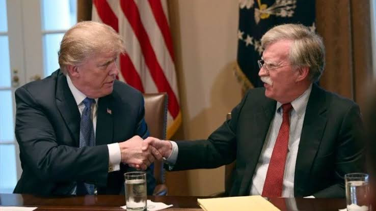 Washed up creepster John Bolton is a lowlife who should be in jail