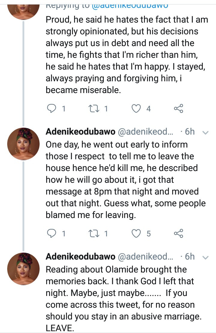 """My ex and I were best friends till we got married then the hate became unexplainable"" Woman narrates the incident that made her run from her marriage"