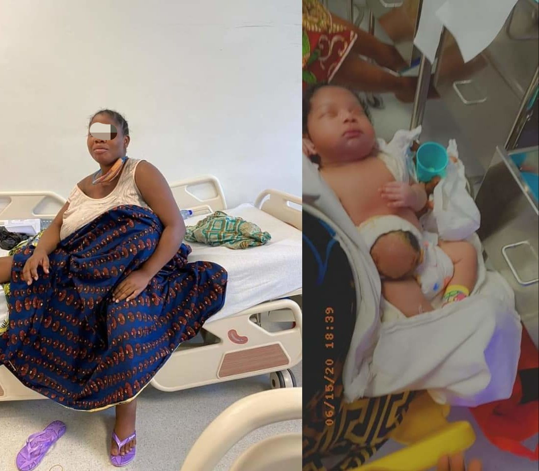 Nigerian woman gang-raped in Ghana loses her newborn baby conceived from the rape incident