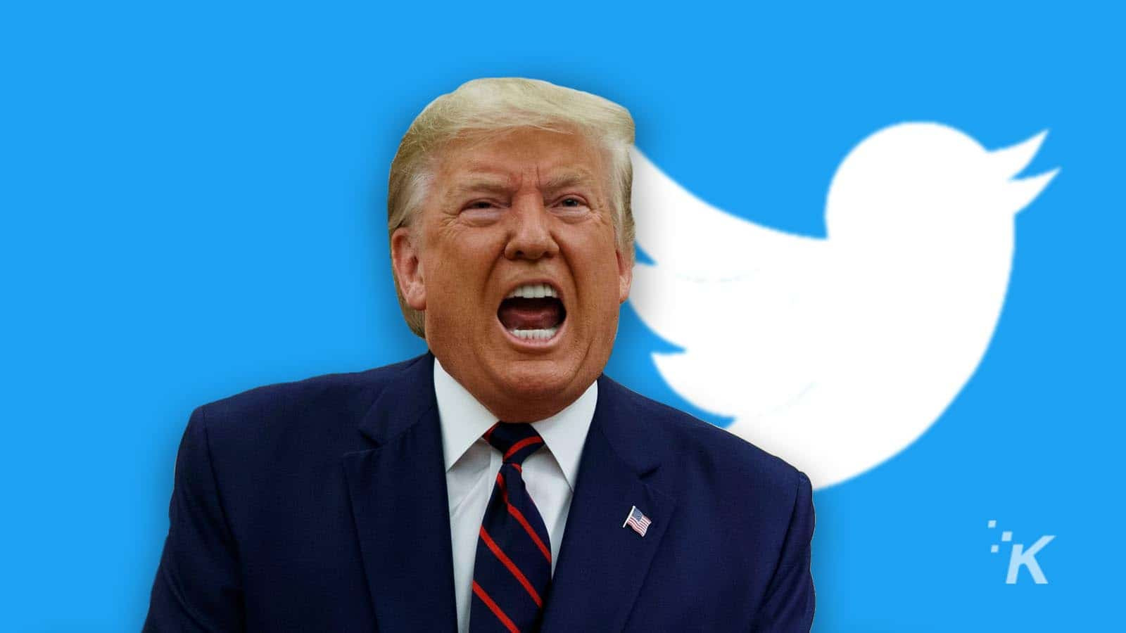 Twitter puts warning on Trump's tweet for threatening protesters with
