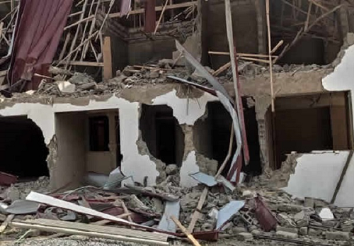 Two persons arrested over demolition of Nigerian Embassy Staff Quarters