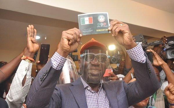 Breaking: Godwin Obaseki emerges Edo PDP candidate