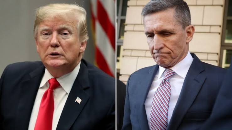 """Are Democrats, Obama and Biden going to apologize?"" - Trump reacts after appeals court orders judge to dismiss criminal case against his former adviser Michael Flynn"