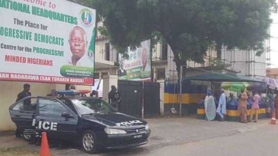 Police seal off APC National secretariat