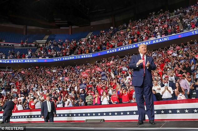 Dozens of Trump