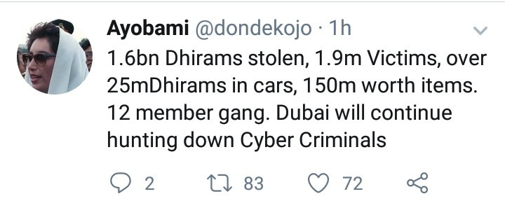 Dubai police release video showing how Hushpuppi was arrested in an operation dubbed Fox Hunt 2