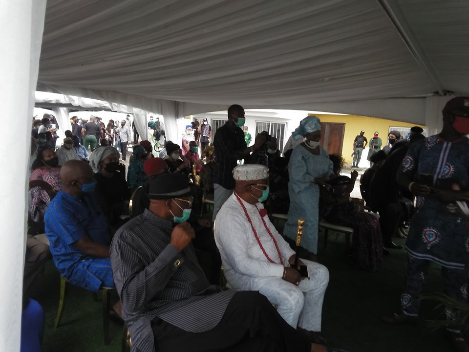 First photos from the funeral of billionaire businessman, Willie Anumudu