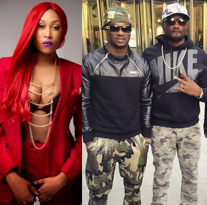 Cynthia Morgan slams Paul Okoye after calling out his brother Jude Okoye