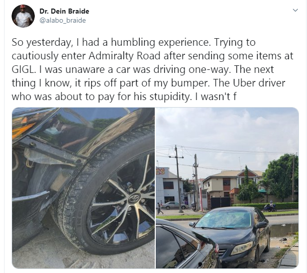 Nigerian man recounts