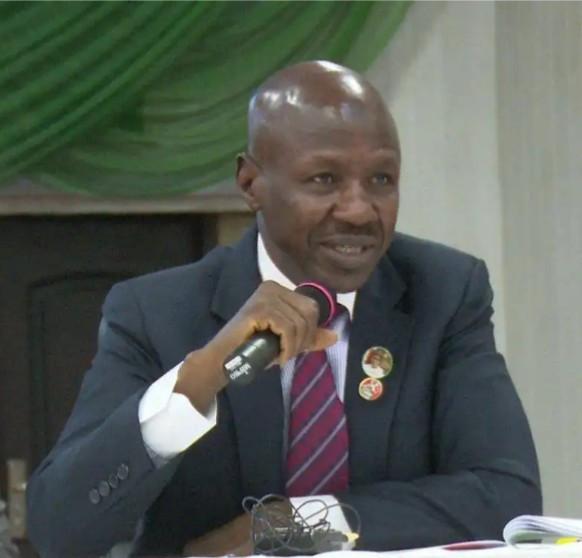 We?ll go after looters hiding in Ghana- EFCC boss, Ibrahim Magu says