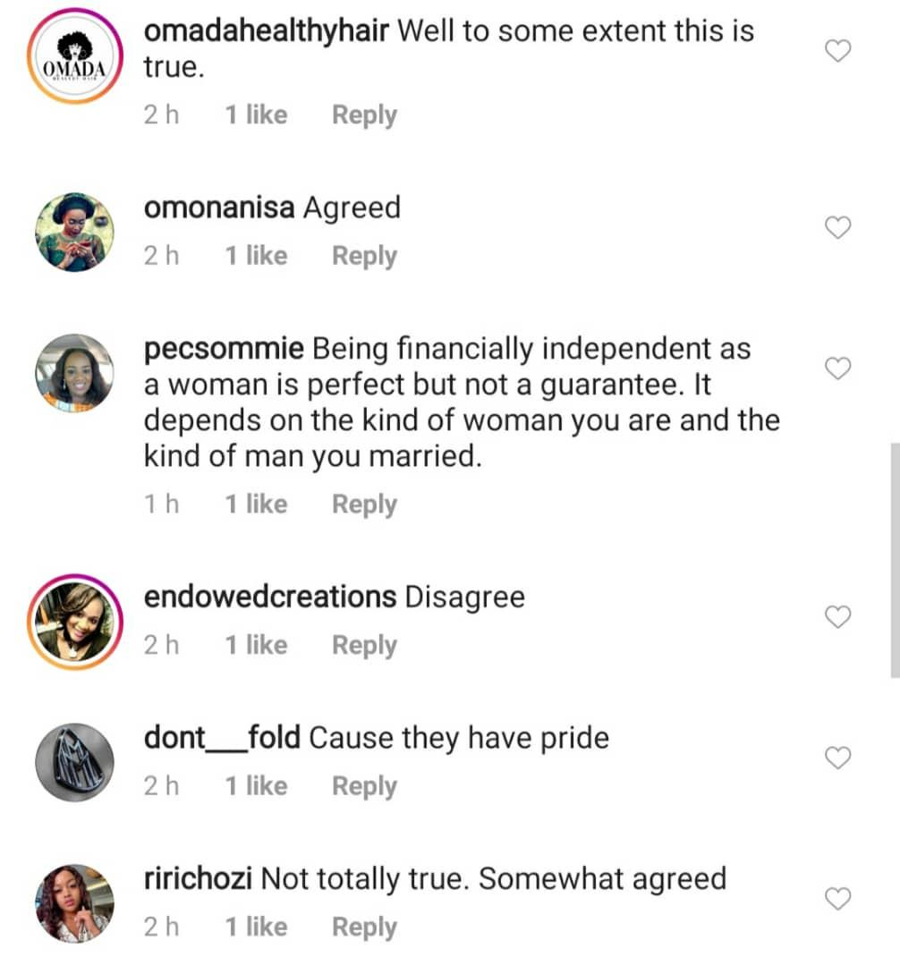 Nigerian lady sparks debate after tweeting