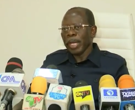 I accept APC NWC dissolution in good faith ? Adams Oshiomhole (Video)