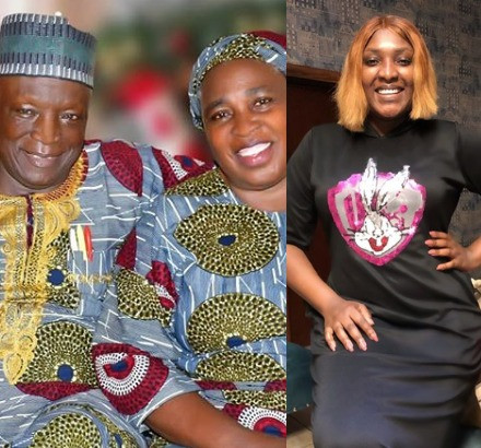 Actress Esther Ene celebrates her parents on their 50th wedding anniversary