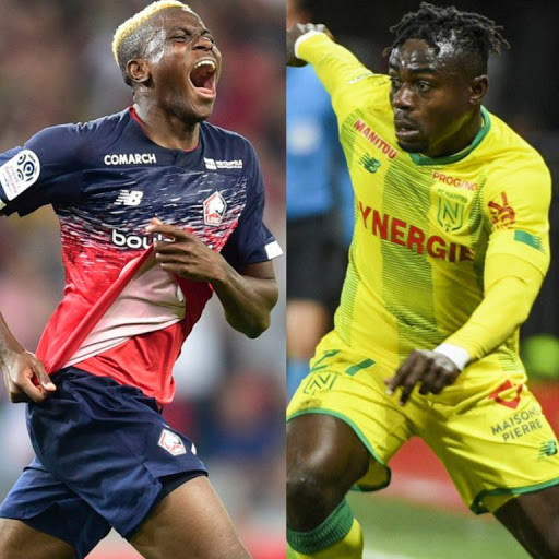 Victor Osimhen beats Moses Simon to win 2020 Marc-Vivien Foe prize for Best African Player in French Ligue 1?