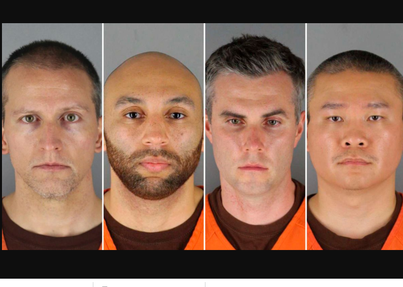 Four ex-Minneapolis police officers charged in George Floyd