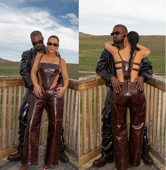 Kanye West celebrates his wife Kim Kardashian on becoming a