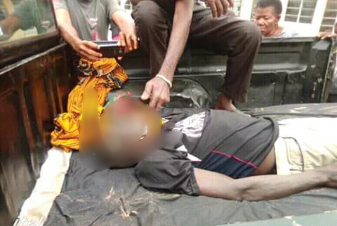 67-year-old man hacked to death