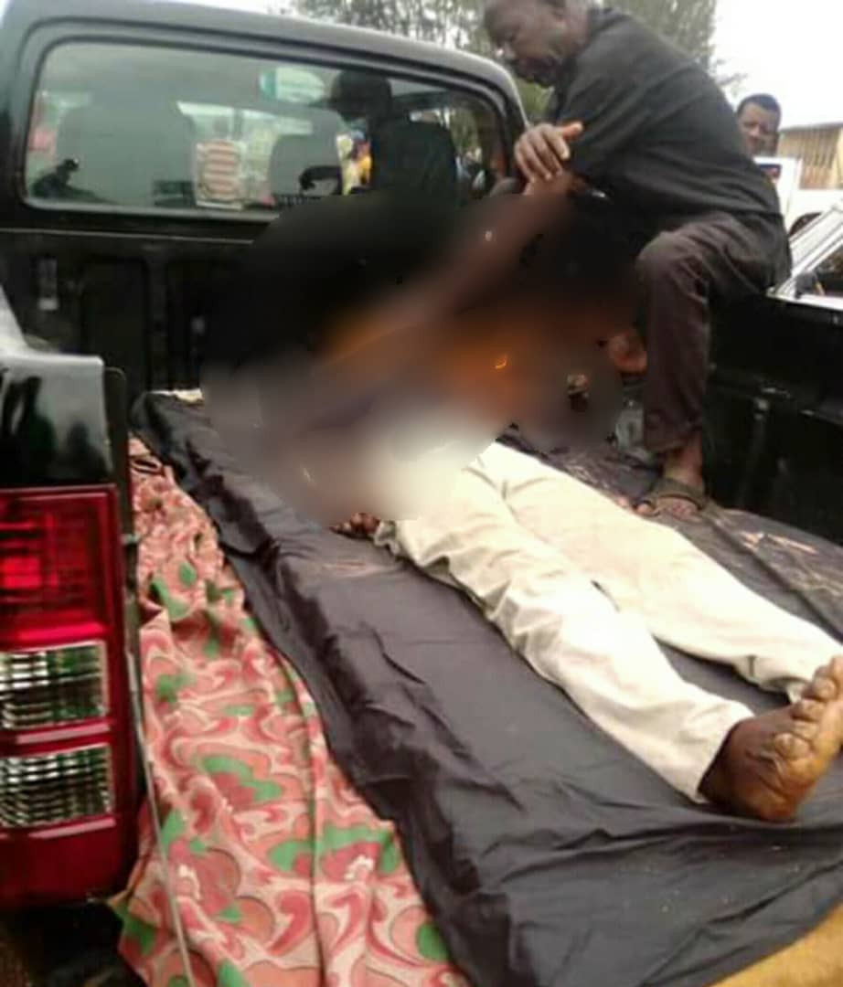 67-year-old man hacked to death by unknown persons in Enugu (graphic)