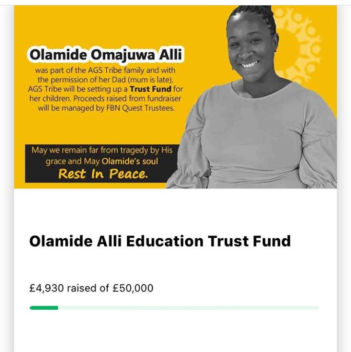 Nigerians contribute 22 million Naira for slain Olamide Alli