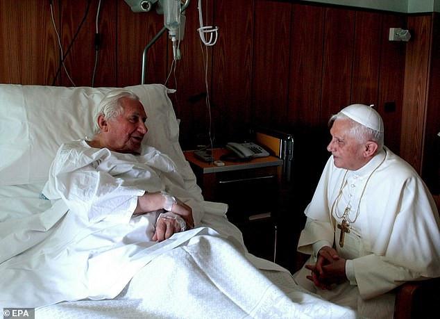 Retired pope Benedict XVI?s older brother, Monsignor Georg Ratzinger, dies at 96