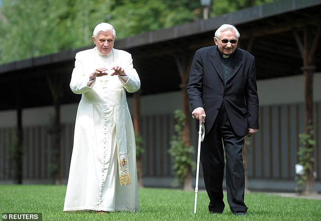 Retired pope Benedict XVI?s older brother, Monsignor Georg Ratzinger, dies at 96