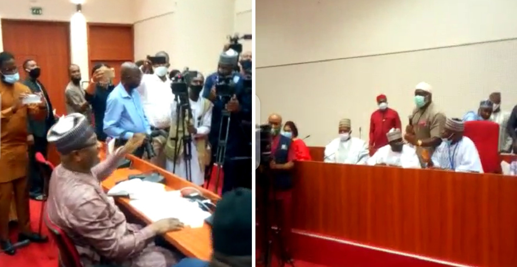 774,000 Jobs: NASS suspends recruitment exercise after shouting match with Keyamo