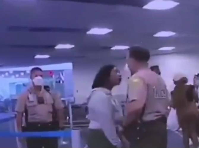 White Maimi police officer relieved from duty for punching a black woman at Miami Airport