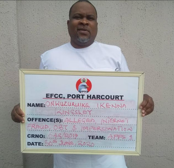 EFCC arraigns Abia big boy, Jeff Sikora for $8.5m U.S bank scam