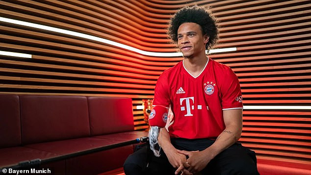 Bayern Munich officially confirm ?55million signing of Leroy Sane from Manchester City on a five-year deal