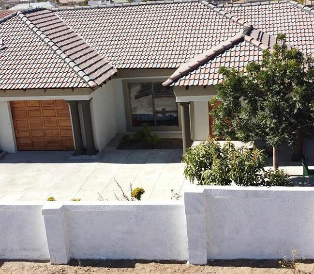 South African model/news anchor, Eva Modika shows off the house she built for her parents (photos)