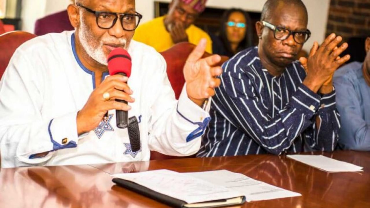 Hand over to me, you are incapacitated - Ondo Deputy Governor tells Akeredolu
