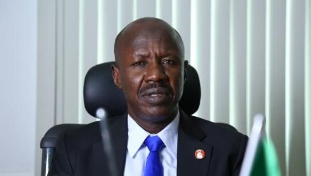 EFCC acting chairman, Ibrahim Magu reportedly detained after he ...
