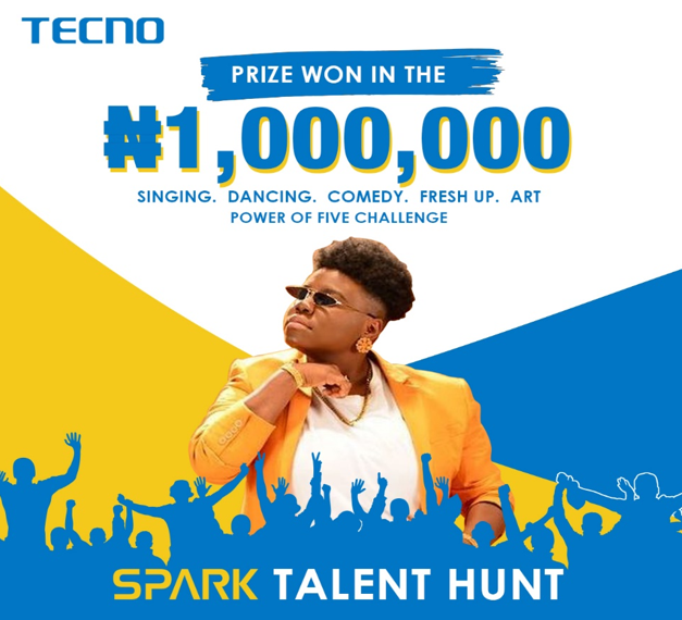TECNO Wraps Up Spark 5 Talent Hunt, Giving Away 1 Million Naira