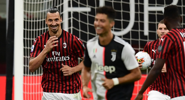I am president, coach and player at Milan - Zlatan Ibrahimovic brags after helping club defeat Juventus