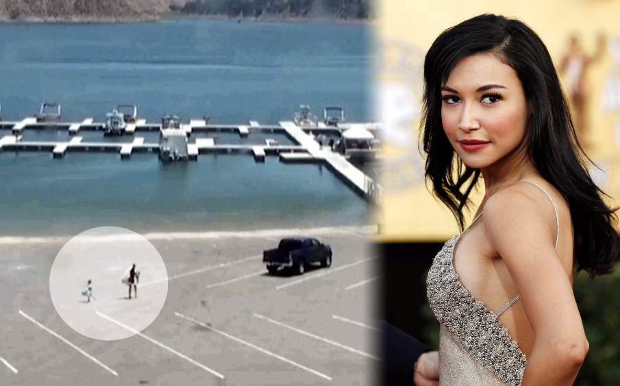 Police release video of actress Naya Rivera and her son arriving at Lake Piru and riding away in a boat before her disappearance