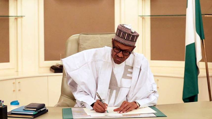 President Buhari signs N10.8trn revised 2020 Budget