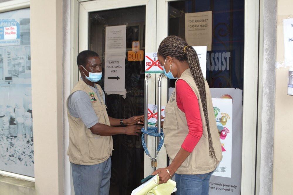 ?Unauthorised? COVID-19 test centre sealed in Lagos