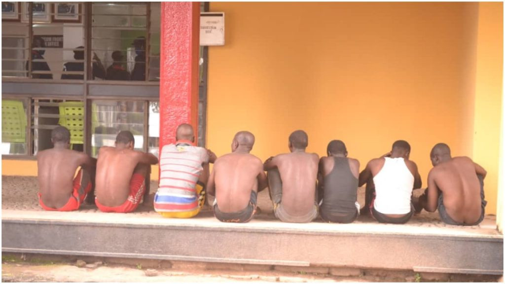 Suspected motorcycle thieves arrested in Ibadan (photos)